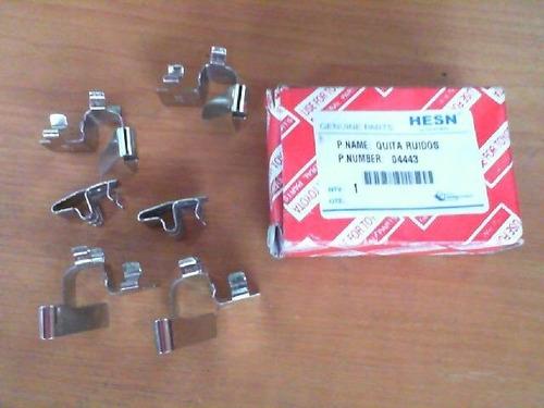 quita ruido toyota corolla hasta el 2002 (6 piezas) (04443)