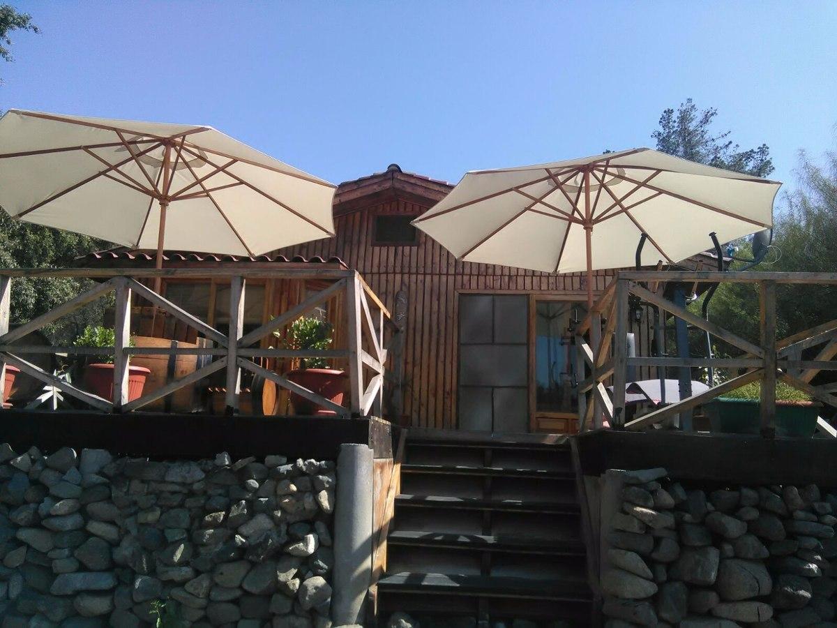 Quitasoles de madera y juegos de terrazas en - Terrazas de madera precios ...