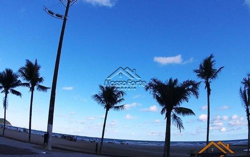 quitinete vista para o mar na guilhermina em praia grande