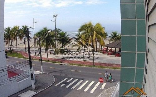 quitinete vista para o mar na tupi em praia grande