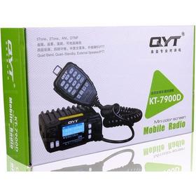 Qyt Kt-7900d Quad-band Com Microfone Sem Fio,espetacular.