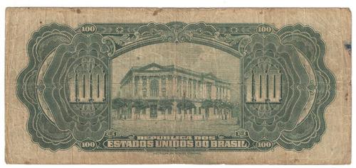 r 187 100 mil reis cx estabilizaçao 1927 mocinha cr064