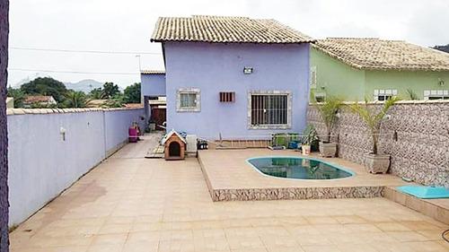 r$ 290 mil reais! casa c/3 qtos, área de lazer com piscina.