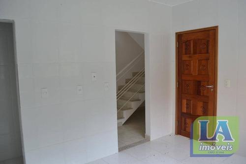 r$ 395.000,00 casa 3 suítes primeira locação à venda, engenho do mato, niterói. - ca0874