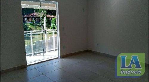r$ 470.000,00 casa 3 suítes primeira locação à venda, itaipu, niterói. - ca0239