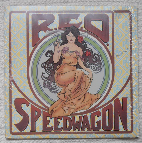 r e o speedwagon - this time we.. ( l p 1ra. ed. u s a 1975)