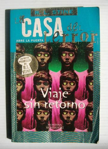 r. l. stine viaje sin retorno libro importado 2002