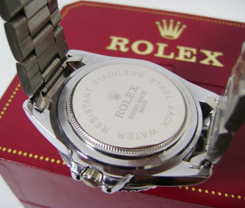 r o l e x . reloj mod. submariner con calendario acero ppn22