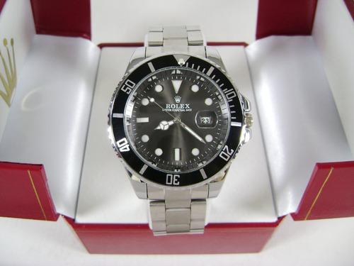 r o l e x . reloj mod. submariner con calendario acero ppn23