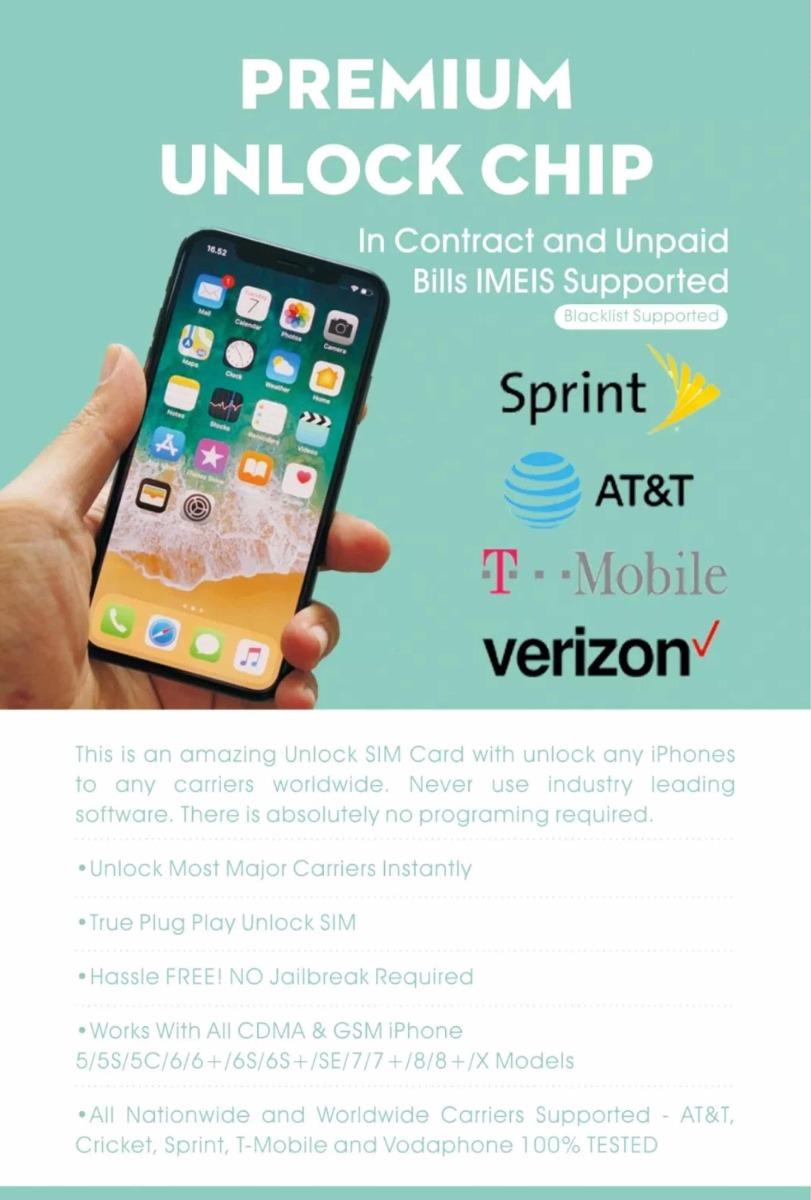 908ce2ffc58 R-sim 12 Desbloquea Tarjeta Sim Turbo iPhone X 87 6s 6 5 - $ 2.500 ...
