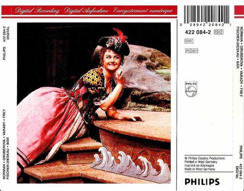 r. strauss ariadne auf naxos / jessye norman,k. masur (2 cd)
