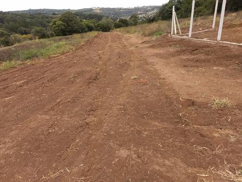 r terreno pra chaçará 500 m² c/ água luz portaria em ibiúna