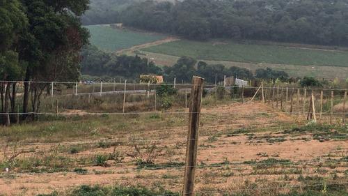 r terreno pra chácara c/ segurança com água, luz em ibiuna