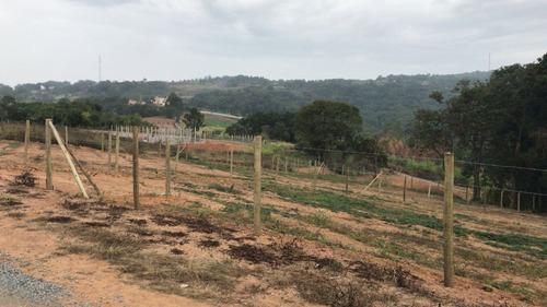 r terrenos p/ chácaras c/ segurança com água e luz em ibiuna