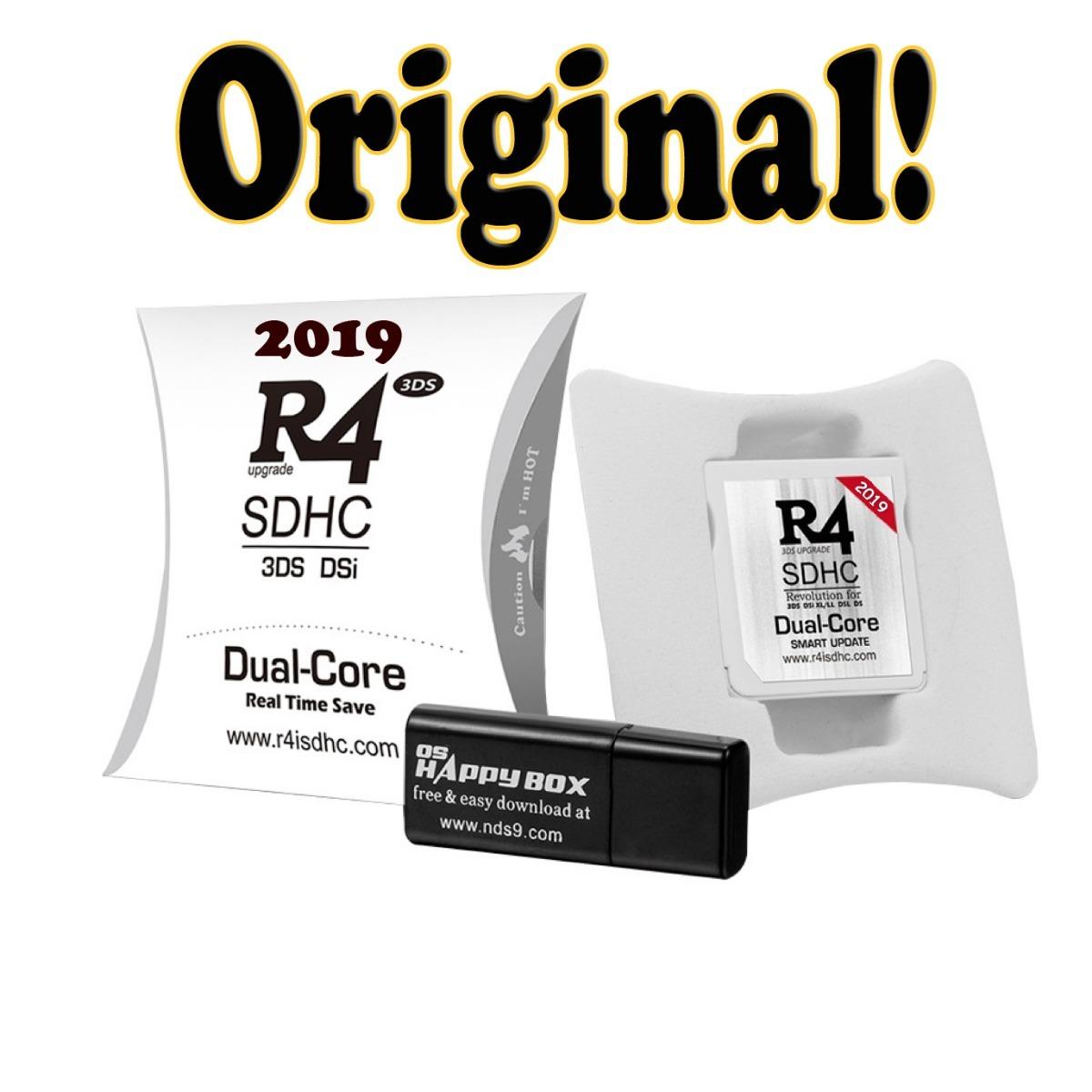 R4 Flashcard Dual Core - 3 400 Jogos + Microsd 16gb