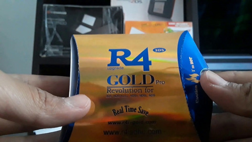 r4 gold para 3ds , juegos ds , snes , gba
