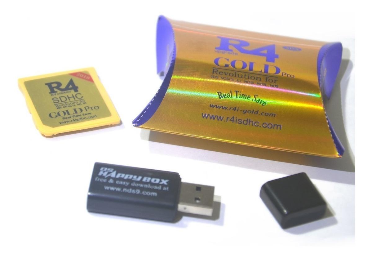 R4 Gold Pro 2018 Programada Con Magnethax