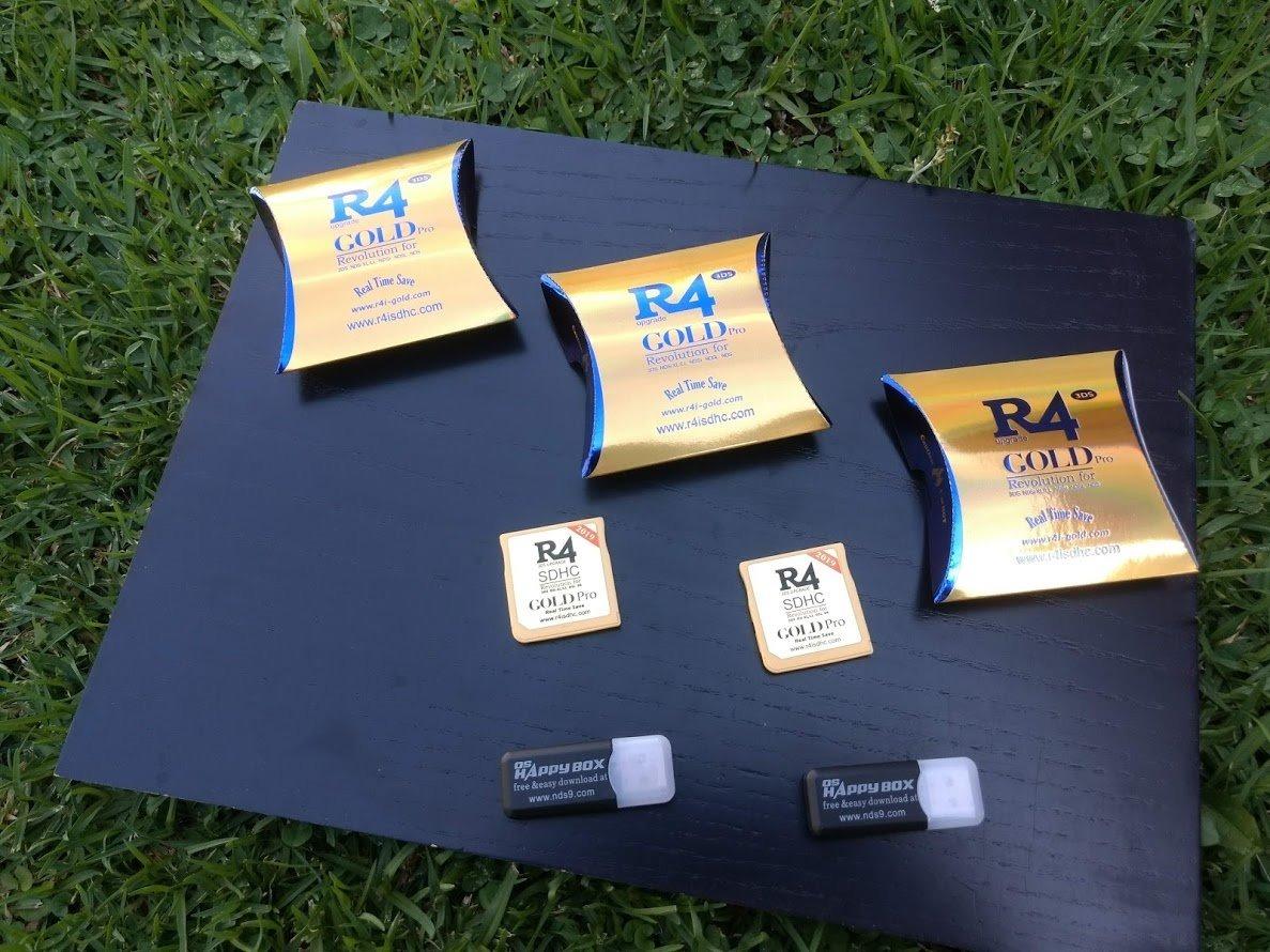 R4 Gold Pro 2019 Muñoncitogames - Envío Incluído