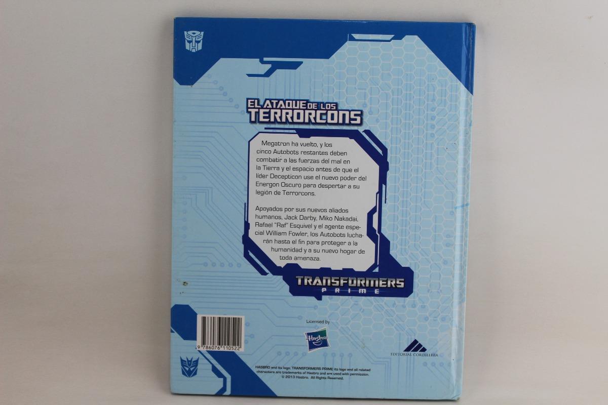 R455 Transformers Prime El Ataque De Los Terrorcons - $ 97 00
