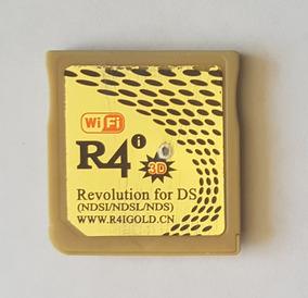R4i Gold 3ds Con Memoria 4gb Dsi
