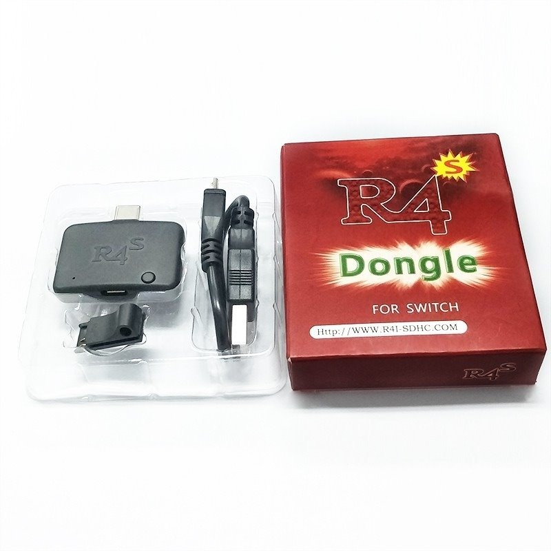 R4s Dongle + Jig Para Nintendo Switch Rcm Payload