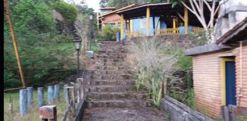 (ra) chácara com piscina, churrasqueira e acesso a natureza