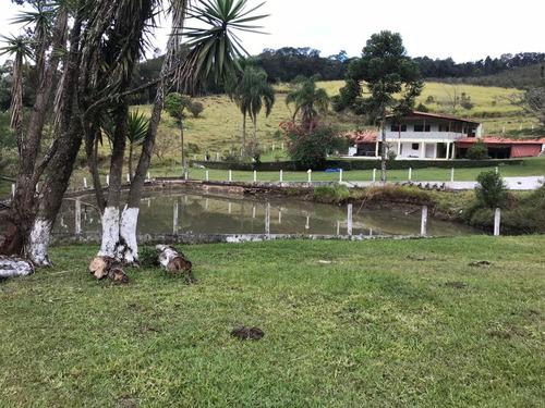 (ra) condomínio de chácaras com lagos para pesca esportiva