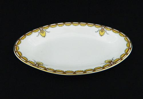 rabanera porcelana limoges frank haviland de 20,5 x 12 cm