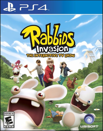 rabbids invasion ps4 español sellado delivery stock ya