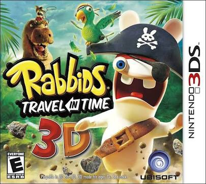 rabbids travel in time 3d (nuevo)