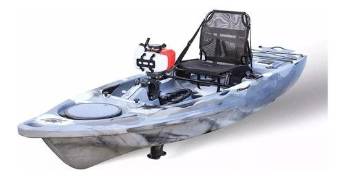 rabeta completa + motor barco bote popa 58cc