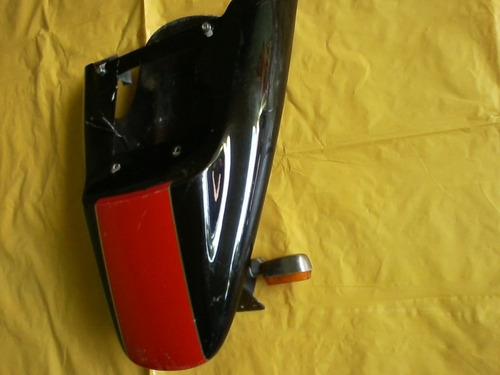 rabeta para adaptação com pisca e suporte de placas usada