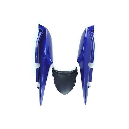 rabeta traseira honda titan150 2009 azul s/adesivo