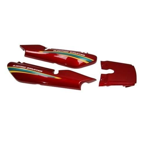 rabeta traseira yamaha ybr125 - e 2000 vermelha