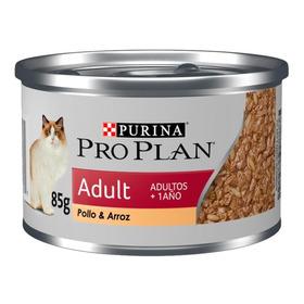 Ração Pro Plan Adult Para Gato Adulto Sabor Frango Em Sachê De 85g