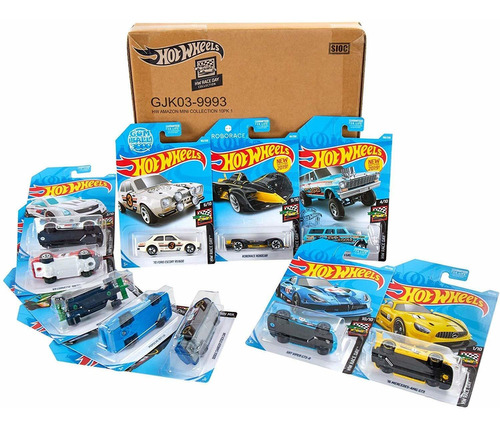 race day pack diecast mini collection exclusivo de amaz...