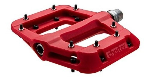 race face chester pedal red, one size