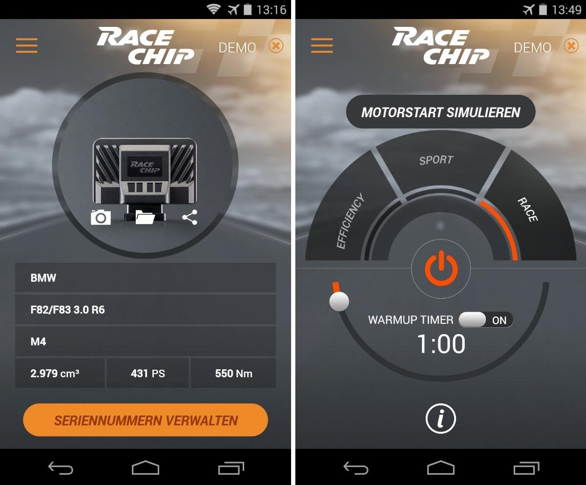 Racechip Gts Black Repro Bmw F85 X5m F86 X6m +102hp