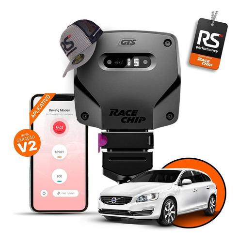 racechip gts v2 volvo s60 2.0 t4 chip de potência + app