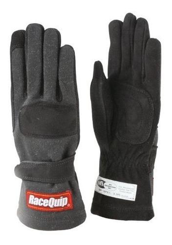 racequip 355006 355 series x-large negro sfi 3.3 / 5 guantes