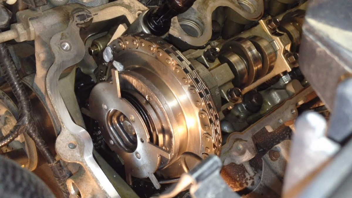 Rache Vct Phaser Cadena Ford Explorer Motor V V D Nq Np Mlv F on Ford 4 6 V8 Engine Diagram