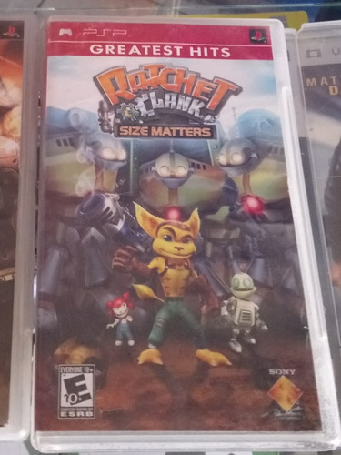 rachet and clank size matters para psp
