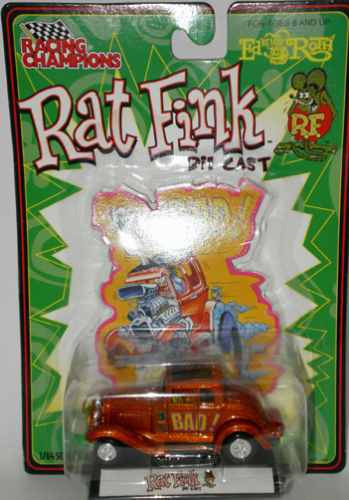 racing champions rat fink ed roth 1932 ford coupe (lacrado)