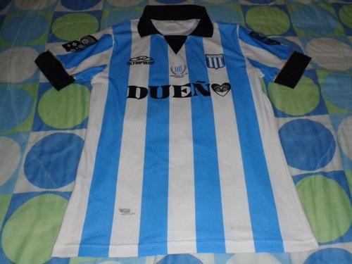 racing club jersey de juego liga argentina