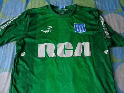 racing club jersey de juego liga argentina portero