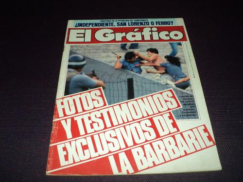 racing desciende a la b / el grafico n° 3350 / 20 -12 - 1983