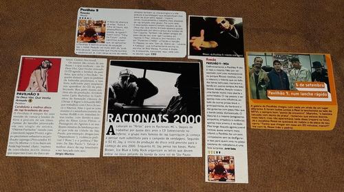 racionais mcs pavilhão 9 e mano brown - recortes originais