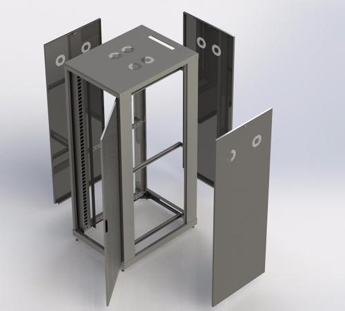 rack 19 servidor piso desmontavel bege 32u x 970mm