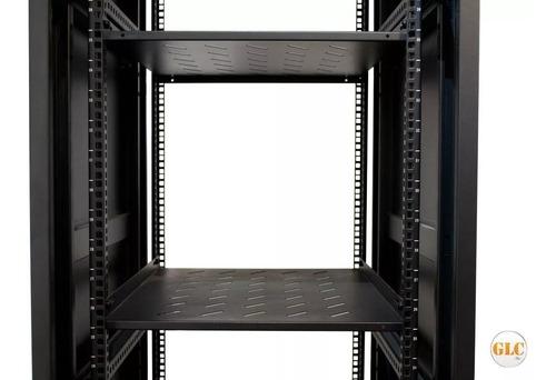 rack 40 unidades glc 19 pulgadas 600mm c/ cerradura y ruedas