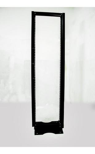 rack abierto piso 36 ru 180cm alto  soportetecnologico racks